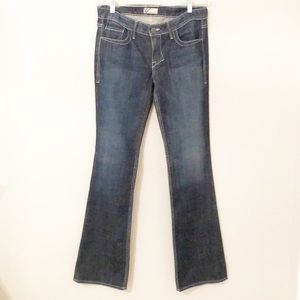 William Rast flare jeans dark wash